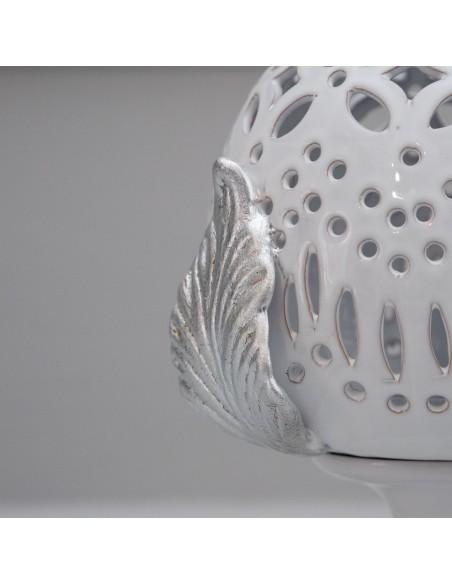 foglia in argento lampada pumo CAMINARI