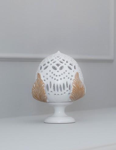 lampada pumo shabby chic in ceramica CAMINARI