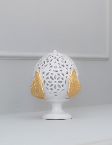 Lampada da tavolo PUMO ROSONE 20 cm...